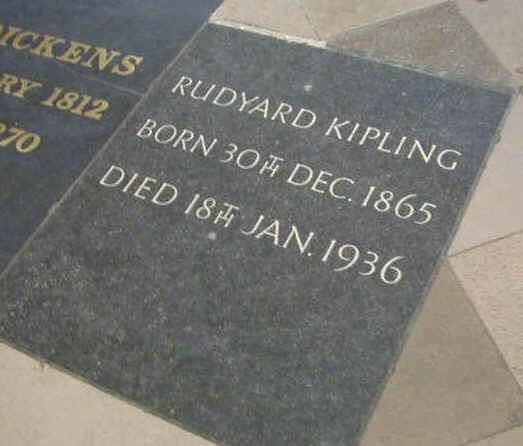 Rudyard Kipling death
