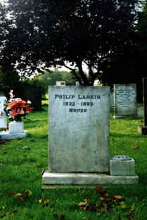 at grass philip larkin